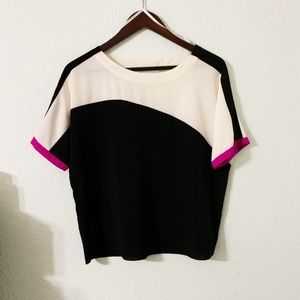 Tops - Calvin Klein Colorblock Blouse